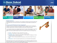Financial Education Microsite